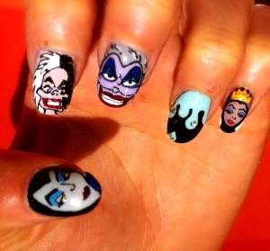 disney - wah nails