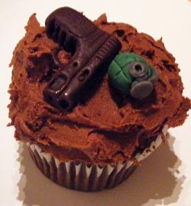 Army Cupcake