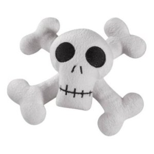 Kooky Spooky Skull Dog Toy