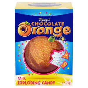 terry's exploding candy chocolate orange