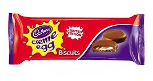 cadbury creme egg biscuit